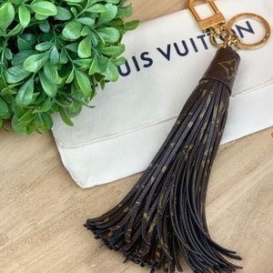 Louis Vuitton tassel purse charm